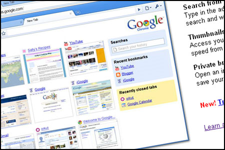 Google Chrome Internet Web Browser Review