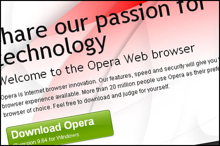 Opera Internet Web Browser Review